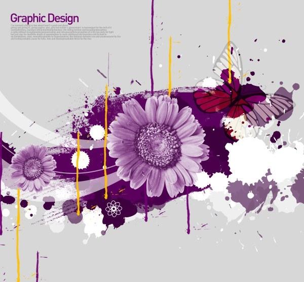 the korea design elements psd layered yi022