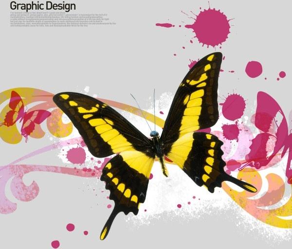 the korea design elements psd layered yi026