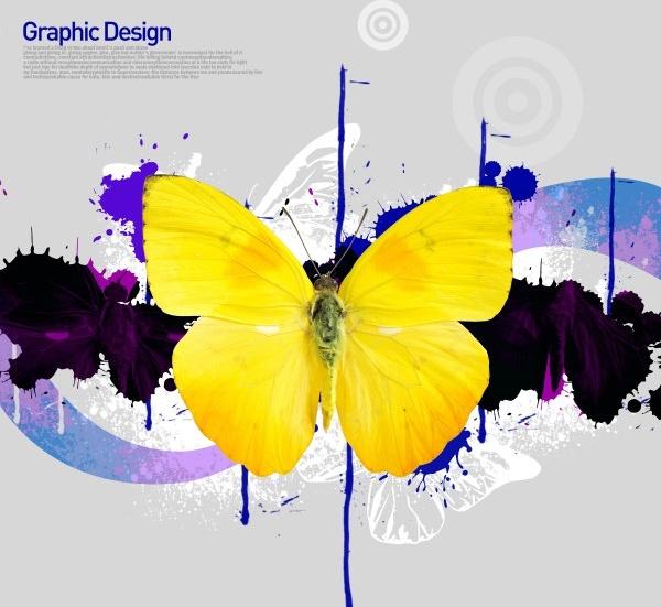 the korea design elements psd layered yi027