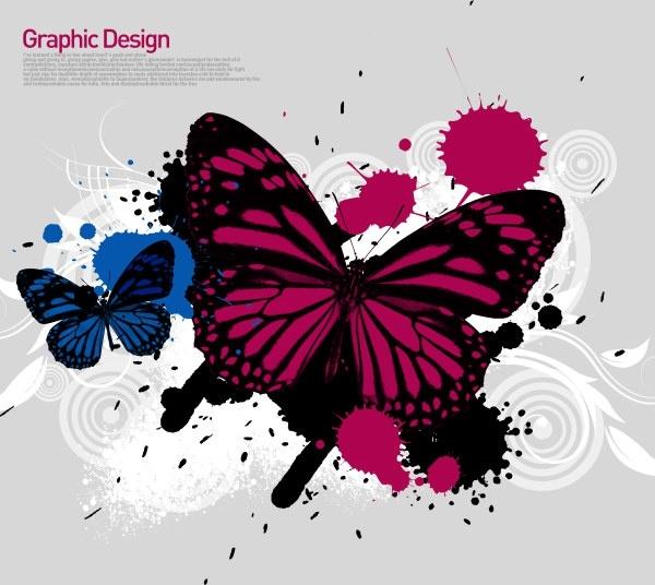 the korea design elements psd layered yi032