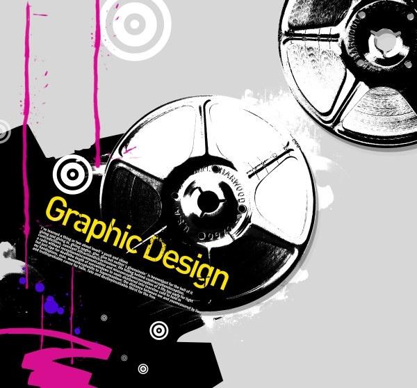 the korea design elements psd layered yi036
