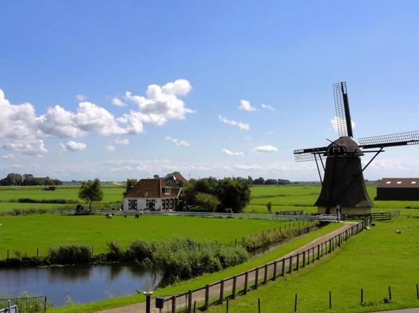 the netherlands landscape sky