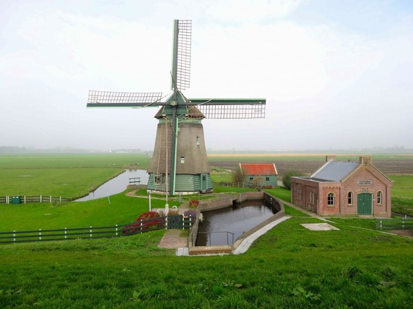 the netherlands scenic landscape