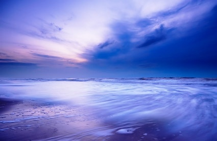 the sea at dusk picture 4