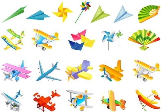 the second children toys vector