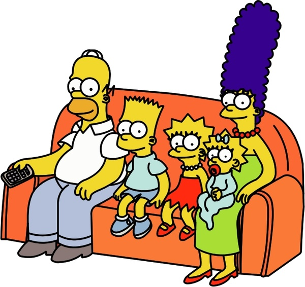 the simpsons 6 free vector in encapsulated postscript eps eps