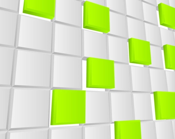 the trend of threedimensional background 03 vector