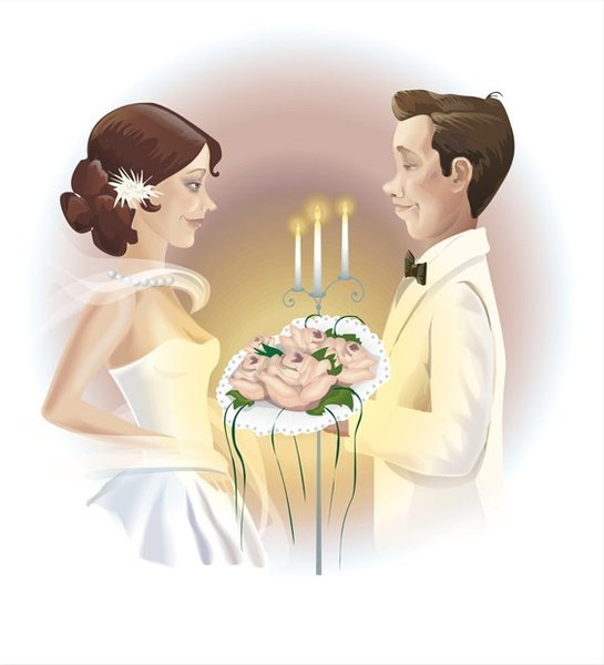 the wedding new vector