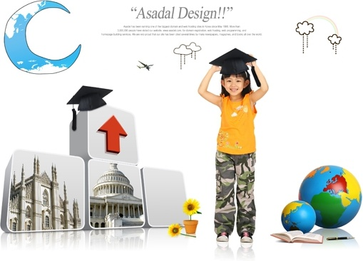 the young students posters psd 3