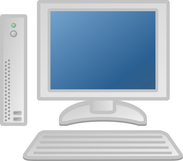 Thin Client Lcd Keyboard clip art Free vector in Open office drawing