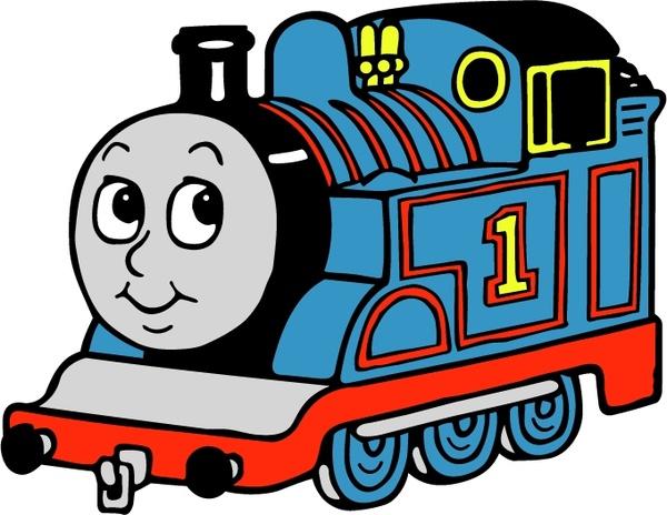 68b7acc244 Thomas the tank engine Free vector in Encapsulated PostScript eps ...