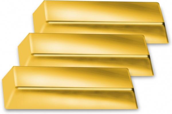 three golden bricks