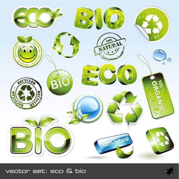 threedimensional crystal style green icon vector