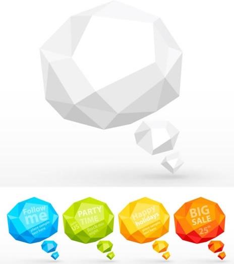threedimensional folding box folding side knuckle vector