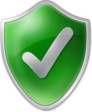 Tick green shield