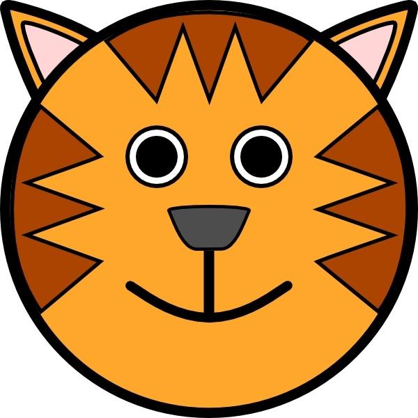 Tiger Face Clip Art Free Vector In Open Office Drawing Svg Svg Vector Illustration Graphic Art Design Format Format For Free Download 113 97kb