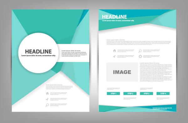 brochure template ai - till color brochure vector free download free vector in