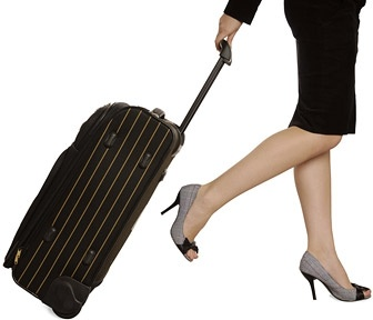 took the suitcase of a woman picture