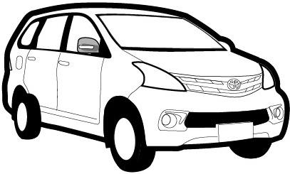 Toyota Avanza Daihatsu Xenia Suv Family Car