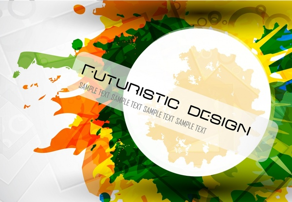 grunge colors background template colorful dynamic design