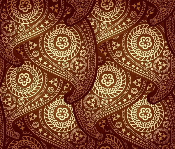 abstract pattern classical repeating curves circles decor