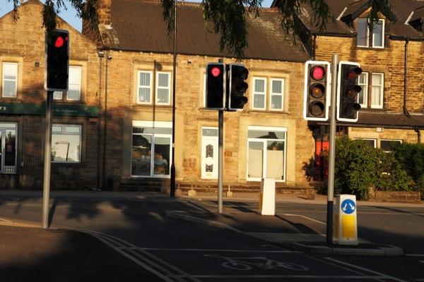 traffic stop lights