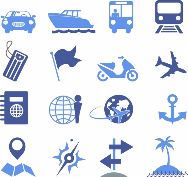 Travel Icons - Pro Series