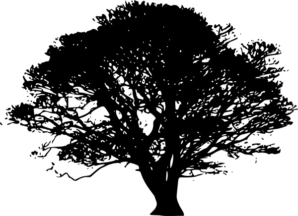tree silhouettes clip art free vector in open office drawing svg rh all free download com tree silhouette clip art free download tree silhouette free clipart