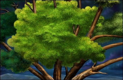 trees psd layered