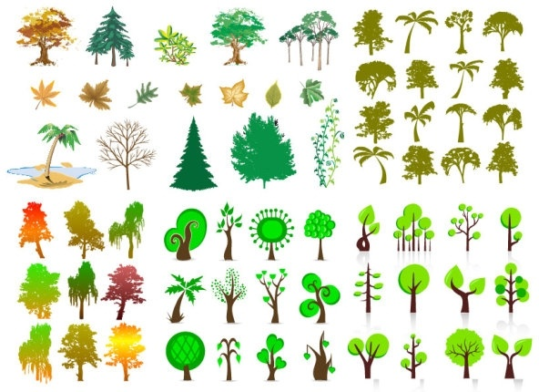 trees vector series
