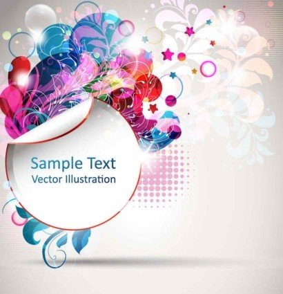 trend creative posters background vector