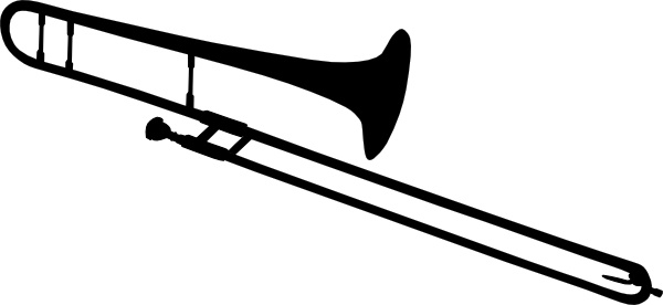 trombone silhouette clip art free vector in open office drawing svg rh all free download com trombone clip art images trombone clip art free