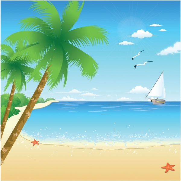 Beach free vector download (858 Free vector) for ...