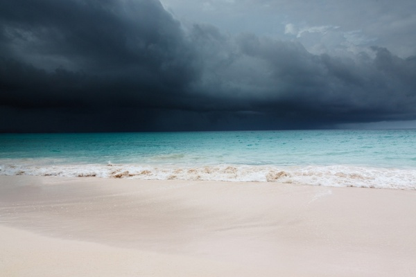 tropical storm is coming