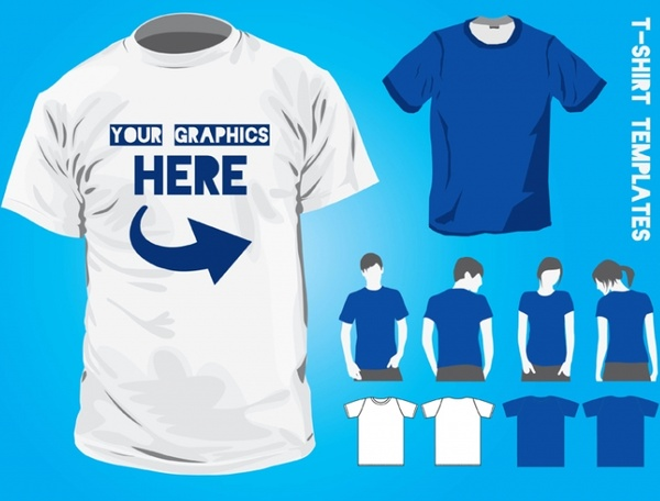 T Shirt Vector Template Illustrator from images.all-free-download.com