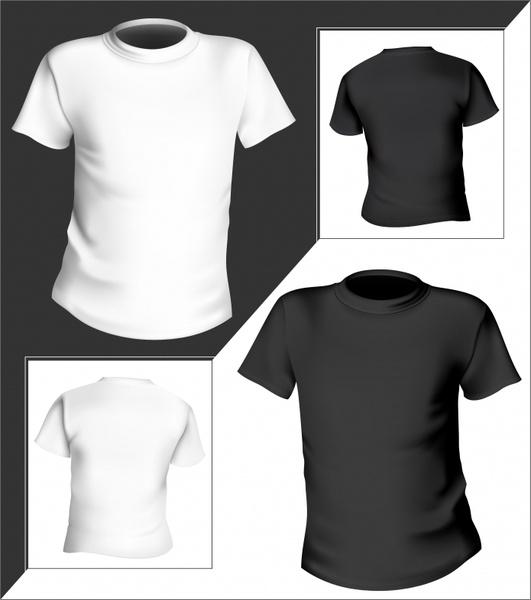Tshirt Templates 3d Modern Black White Decor Free Vector In Encapsulated Postscript Eps Eps Vector Illustration Graphic Art Design Format Format For Free Download 5 23mb