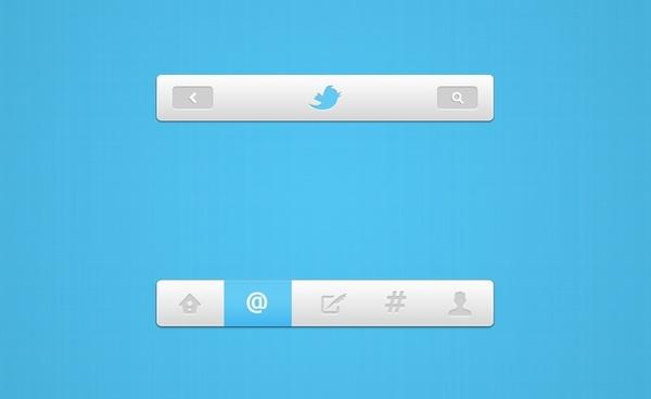 Twitter Nav UI