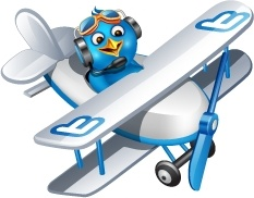 Twitter plane
