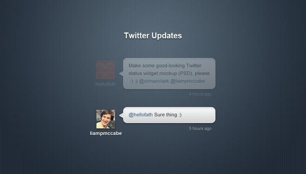 Twitter Status Updates