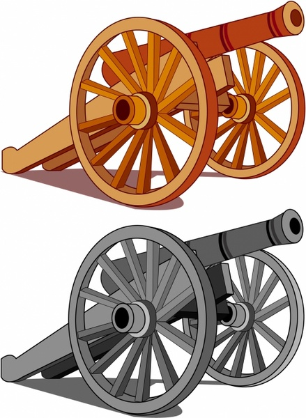 Typical field gun