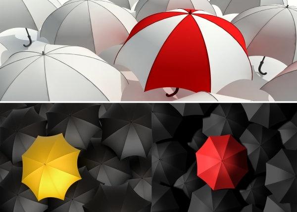 umbrellas hd figure