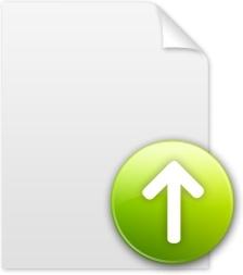 Up arrow document
