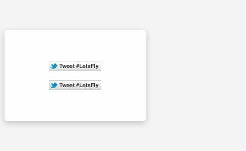 Updated Tweet Button