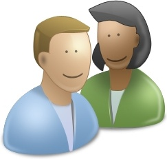 User man and woman