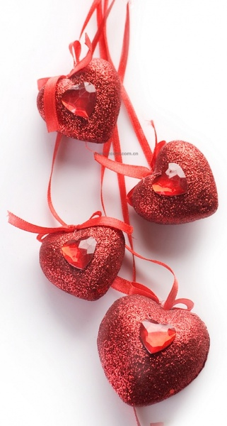 valentine39s day heartshaped ornaments hd picture