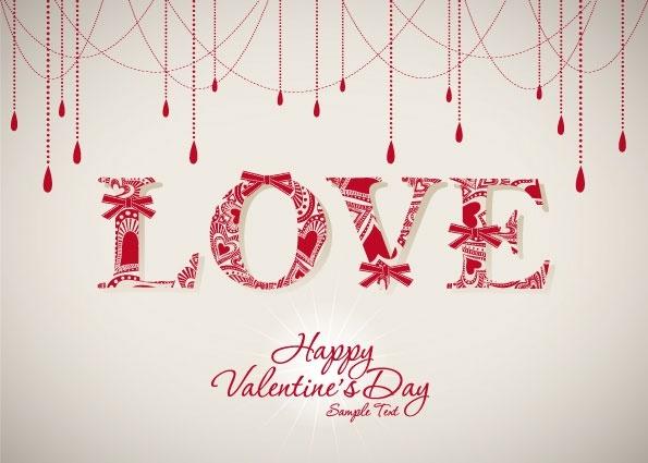 valentine background 05 vector