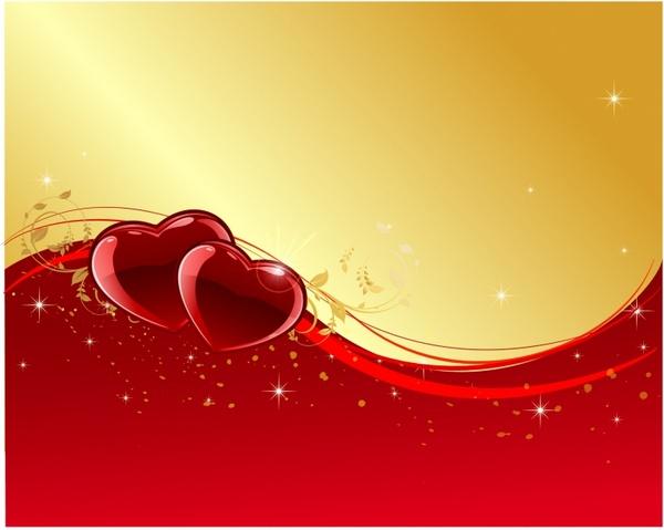 Valentine Day Background Free Vector In Adobe Illustrator Ai AI