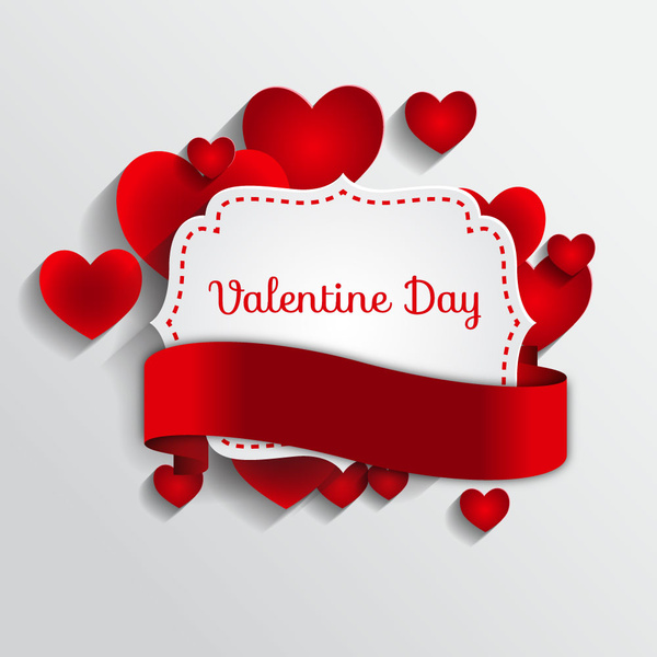 Valentine Day Frame Template Free Vector In Adobe Illustrator Ai