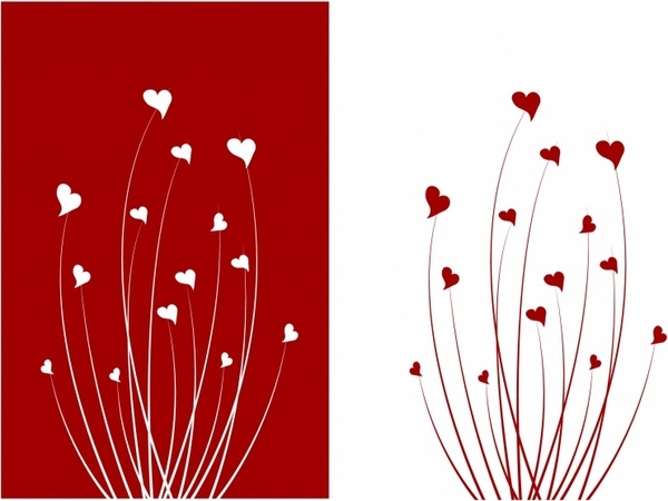 Valentine love flower