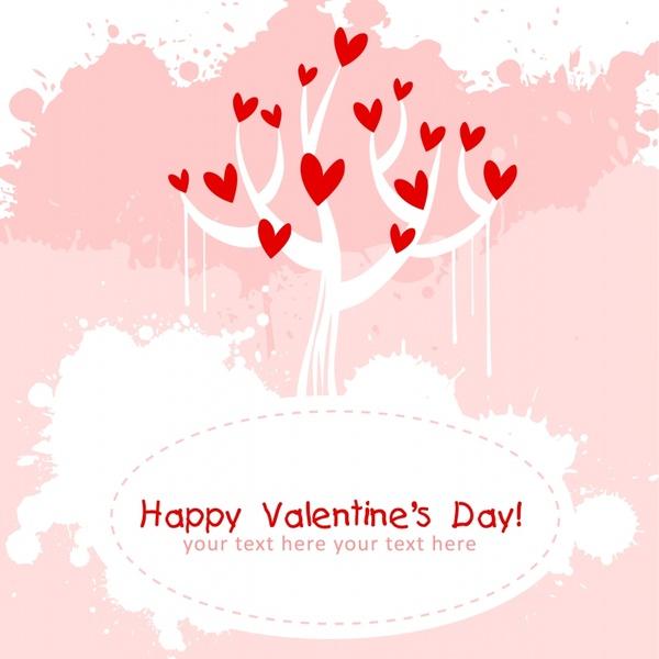 valentine love tree line art bird pattern vector